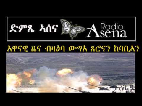 ASSENNA BREAKING NEWS - FIGHTING ALONG THE ERITREA - ETHIOPIA BORDER - JUNE 12, 2016
