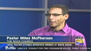 "Rock Church - KFMB News 8 ""Interfaith Easter Brunch"" with Miles McPherson"