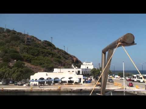 Arriving in Nisyros Island
