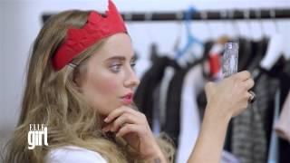 Соня Есьман/ Sonya Esman на съемках для журнала ELLE girl