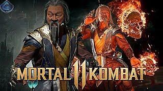 Mortal Kombat 11 Online - CRAZY SHANG TSUNG COMBOS! / Видео