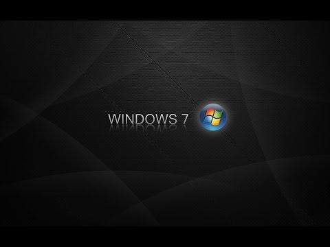 Черный экран и одна мышка (Решение проблемы) Windows 7