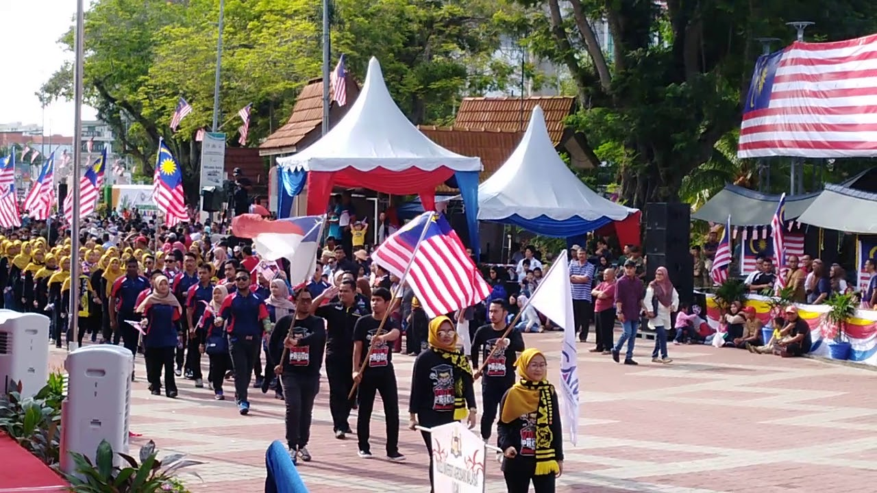 Perbarisan Kemerdekaan Kolej Universiti Agrosains Malaysia Ucam 2018 Youtube