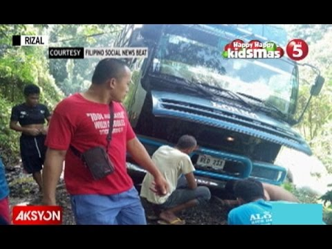 Driver na 5 araw na stranded sa Tanay, Rizal, niligtas sa tulong ng netizens