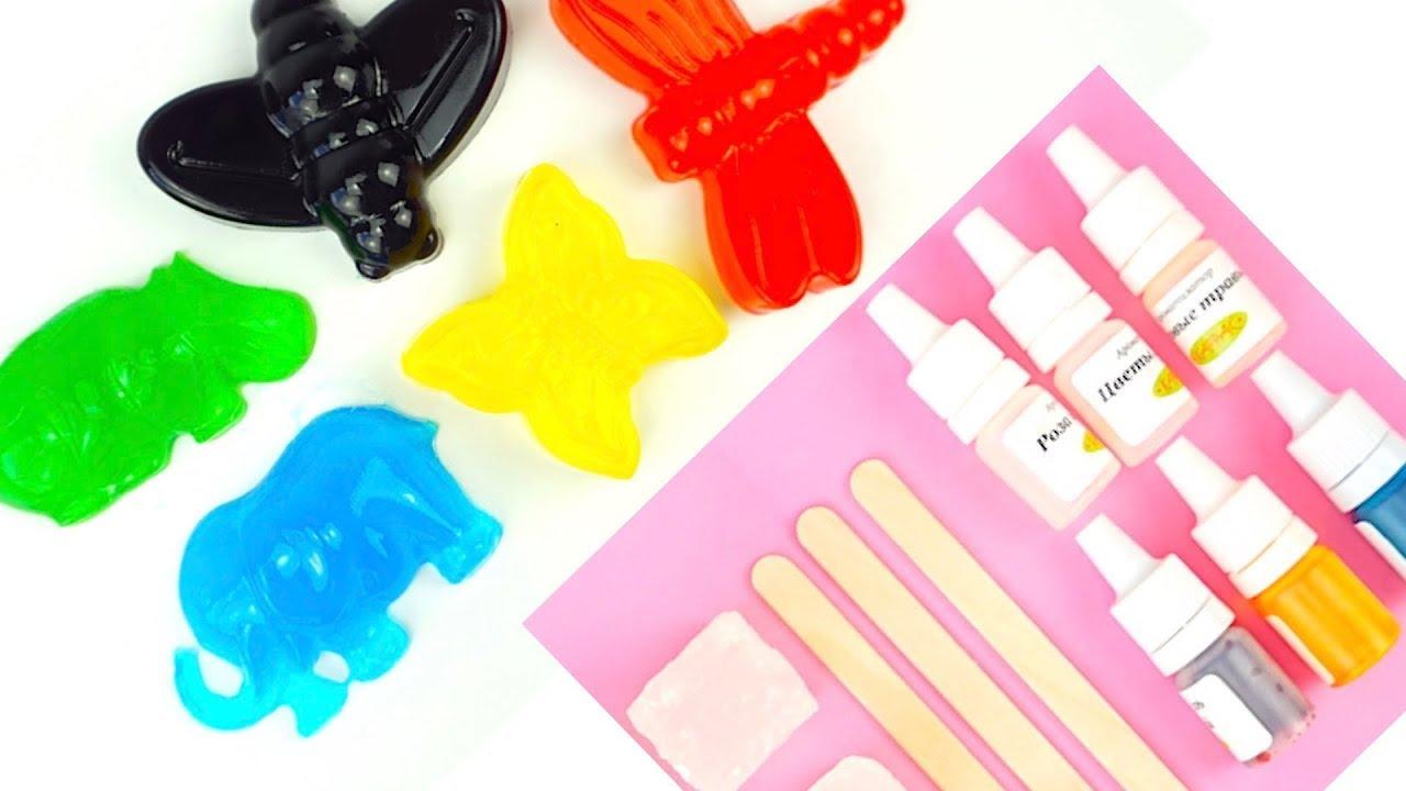 Предлагаем купить наборы для изготовления мыла своими руками. Детские наборы