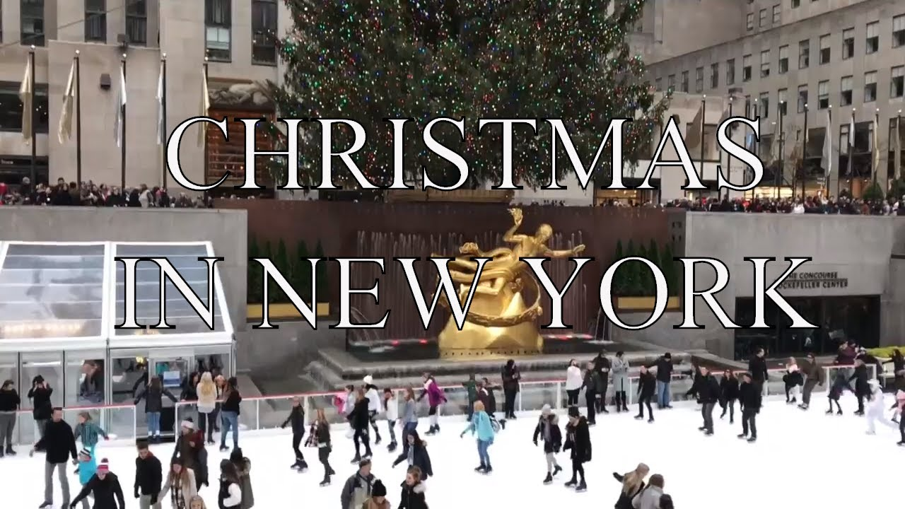 Christmas in New York 2017 - Top Things To Do - YouTube