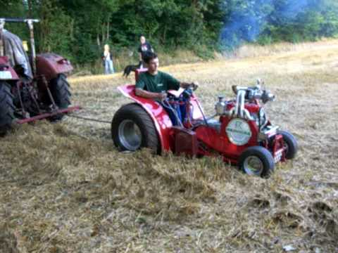 Garden Pulling Tractor Testrun Civic Turbo Youtube