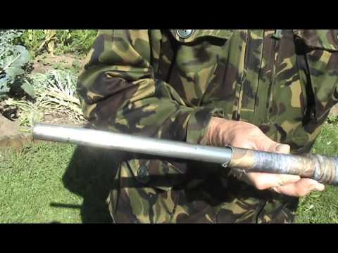 SHOTGUN Double Barrel Sock-Camo-Néoprène-Hushpower