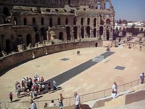 Roman Amphitheatre At El Djem