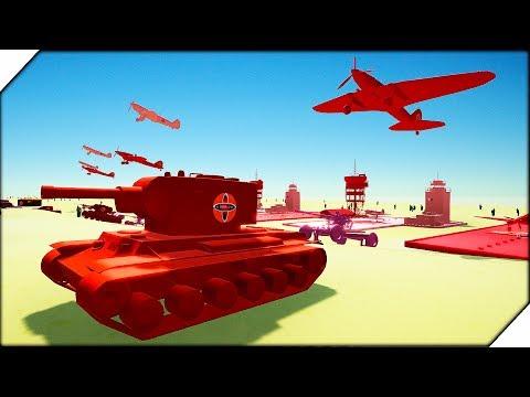 СУПЕР АРМИЯ СССР против НЕМЦЕВ - Total Tank Simulator БИТВА ТАНКОВ И САМОЛЕТОВ. Мультики про танки