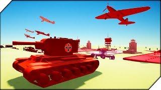 СУПЕР БИТВА - Игра Total Tank Simulator. Мультики про танки с захватывающими битвами.