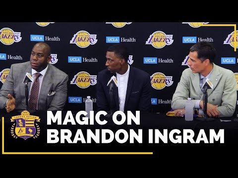 Magic Johnson On What Brandon Ingram Did To Show Him He's A Leader
