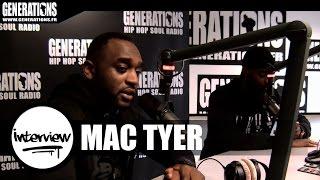 Mac Tyer - Interview #ConcertCigale (Live des studios de Generations)