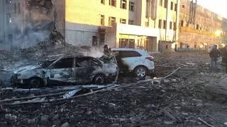 Смотреть видео Взрыв на заводе пиротехники под Петербургом 19 октября 2018 онлайн