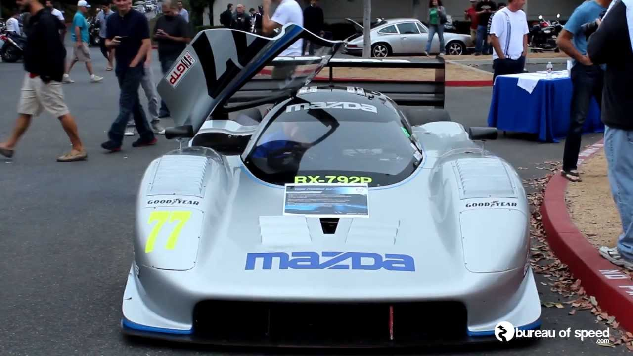 Mazda RX-792P Race Car Revving with Brutal Sound - YouTube