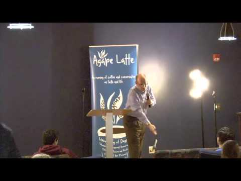 "Agape Latte with Jason Pierce ""Finding Saragossa: The Importance of Departures in My Faith Journey"""