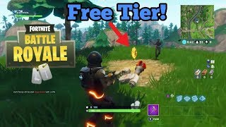 FREE TIER BATTLE PASS week 7 FORTNITE AND NEW SKIN!!!!!!!
