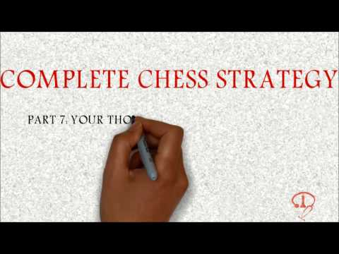 BEGINNER TO 2000 - COMPLETE CHESS STRATEGY PART 7: YOUR THOUGHT PROCESS GAME!