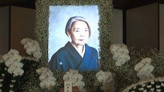 15日に亡くなった樹木希林さん(享年75)の葬儀が営まれ、女優の吉永小...