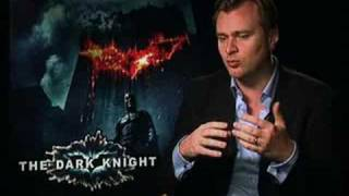 Christopher Nolan Interview For The Dark Knight In HD
