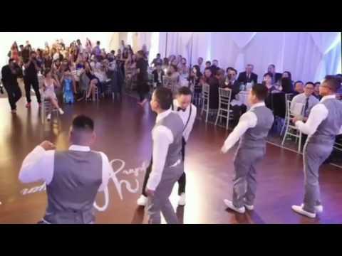 Wedding First Dance to Bachata Remix of Ed Sheeran's song, Shape Of You