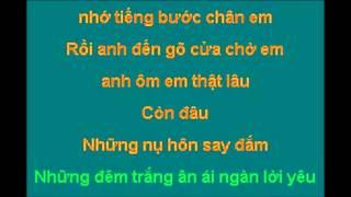 Karaoke Xin Lỗi Anh - Bằng Kiều & Minh Tuyết