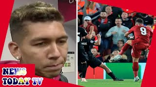 Roberto Firmino reveals what inspired him to come on and score winner against PSG