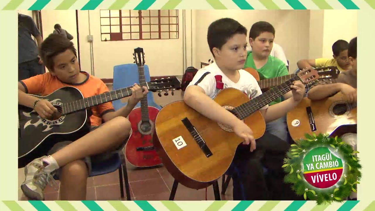 itag para los ni os taller de guitarra casa de la ForGuitarras Para Ninos Casa Amarilla