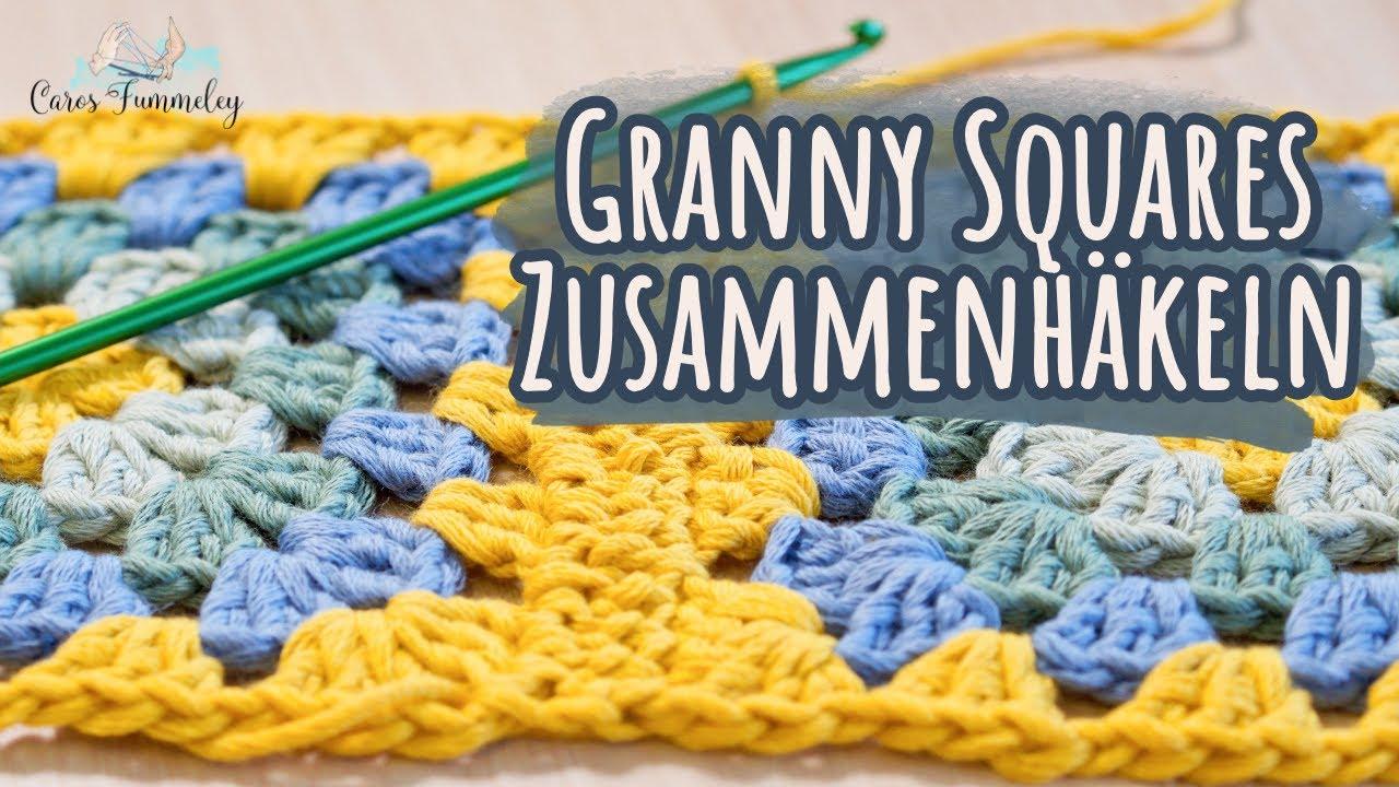 Granny Squares zusammenhäkeln