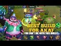 Best Build For Akai - You Can't Die With This Build | Mobile Legends