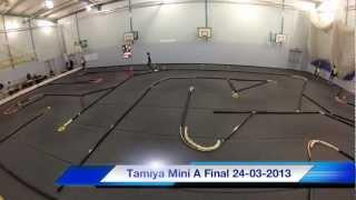 RC Racing At WKRCC Tamiya Mini A Final 24-03-2013