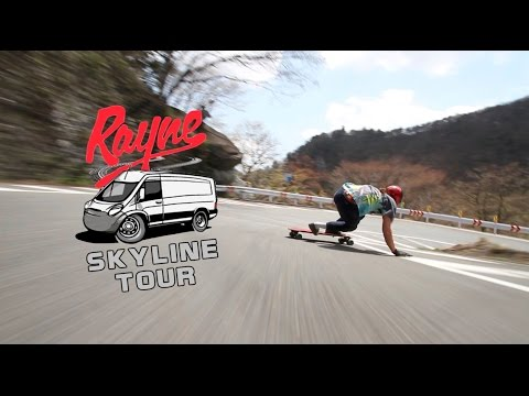 Rayne Longboards Skyline Tour Ep 3 - Cops, Volcanos, and Beer!