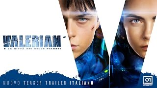 Valerian e la città dei mille pianeti - Nuovo teaser trailer ufficiale italiano
