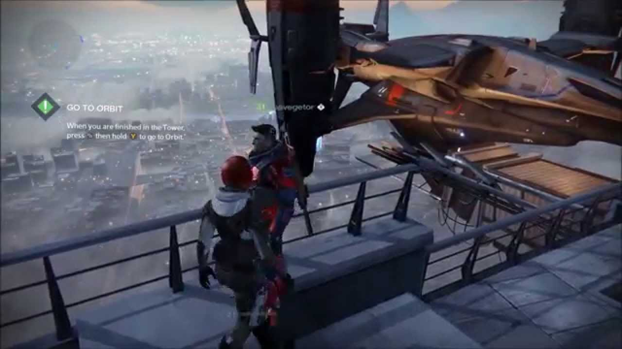 Destiny Jump Spots And Glitches Of The Tower Doovi
