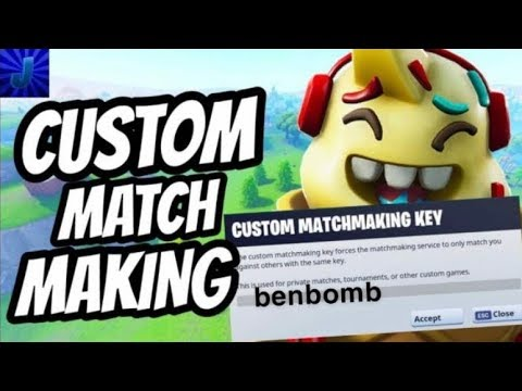 how to reset custom matchmaking key