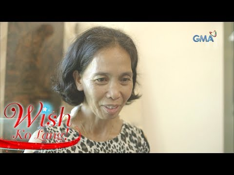 """Wish Ko Lang: Babaeng nabiyuda dahil sa sariling kapatid,  tinulungan ng """"Wish ko Lang"""""""