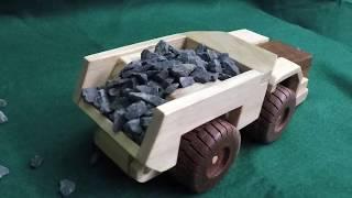 Wooden Toy Underground Mine Truck + Plans