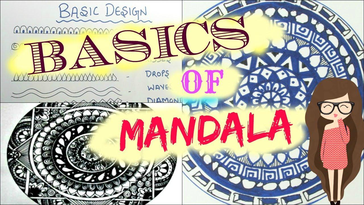 Mandala Basics amp 10 Easy Zen tangle Pattern YouTube