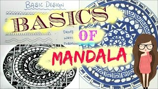 ♥Mandala -Basics & 10 easy zen-tangle pattern ♥