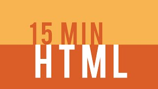 Learn HTML5 in 15 minutes!