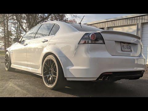 Pontiac G8 GT Longtube Header install How to