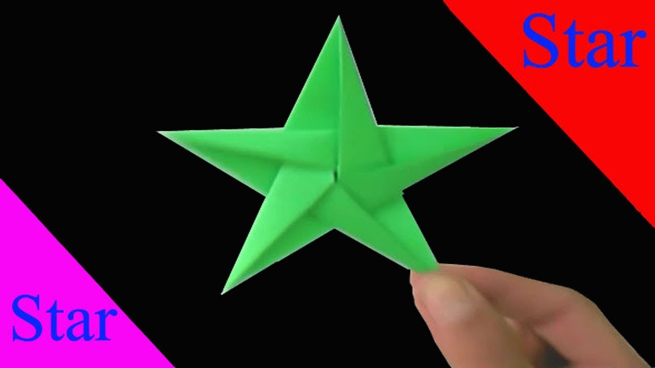 cool origami star how to make things out of paper diy