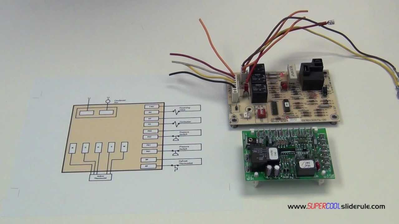 maxresdefault basic operation of a defrost heat pump board youtube defrost board wiring diagram at highcare.asia