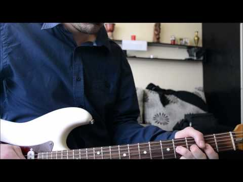 Eric Clapton - Tears In Heaven (electric guitar cover)