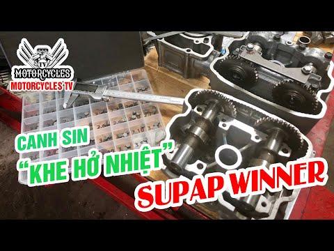 """Canh Sin """" Khe Hở Nhiệt """" Supap winner Chuẩn 1%mm"""