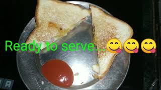 quick sandwich recipe | vegetable tawa sandwich | Indian tava sandwich - Handi Restaurent