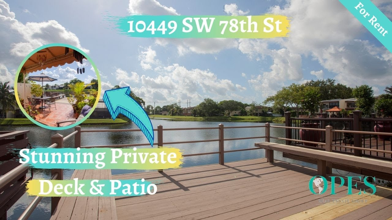 10449 SW 78th St Miami For Rent!