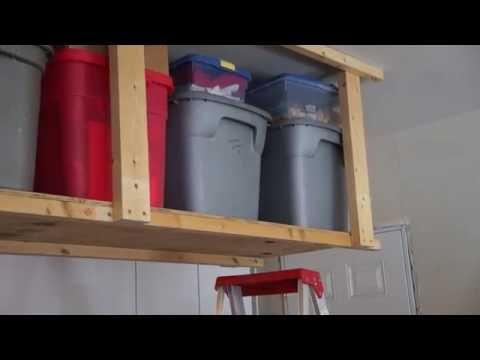 How to Make Hanging Storage Shelves
