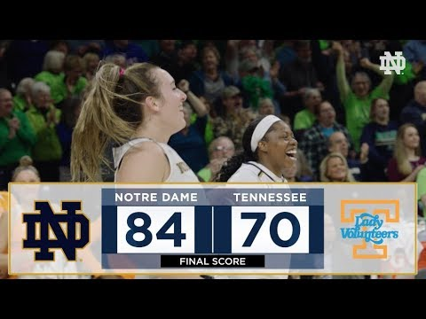 Highlights | @ndwbb vs. Tennessee (2018)