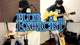 【Acoustic band cover】Ao no Exorcist - Me & Creed